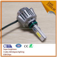 New arrival LED H4 Motorcycle Headlight AC and DC 12V
