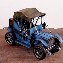 "Vintage Looking Antique 11"" Handcrafted vehicle Car Model"