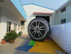 2014 TOP inflatable tyre for advertising !
