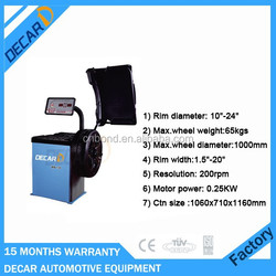 Workshop used car wheel balancer with factory price