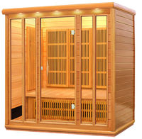 4 person high quality and best price total sauna