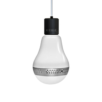 Christmas Ornament Ball Shape Led Light Bulb Bluetooth Speaker