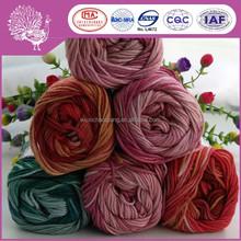 OEM factory fancy wool/bamboo fiber yarn for sweater