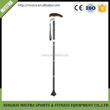 elderly walking stick ,foldable walking aids,ajustable crutch,telescopic walking cane for the elderly