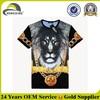 T Shirt 3d /Animal Printed 3d T-shirt/Create Your Own T Shirt