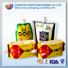 custom printed heat seal plastic different type of spice wholesale package bag