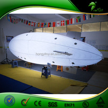 6m Custom Made Inflatable PVC Airship/RC PVC Blimp Outdoor/Zeppelin /LED Light Inflatable Blimp for Sale