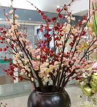New Style Hot Sale Popular Artificial Plum Blossom Bonsai Tree For Decoration And Landscaping