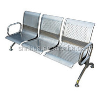 Factory since 1998!CE ISO!Hot selling your best choice 3-seater steel stainless hospital furniture thailand