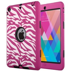 3 in 1 Zebra Pattern Cases for iPad Mini, Covers for iPad Mini 2, Rugged Case for iPad Mini 3