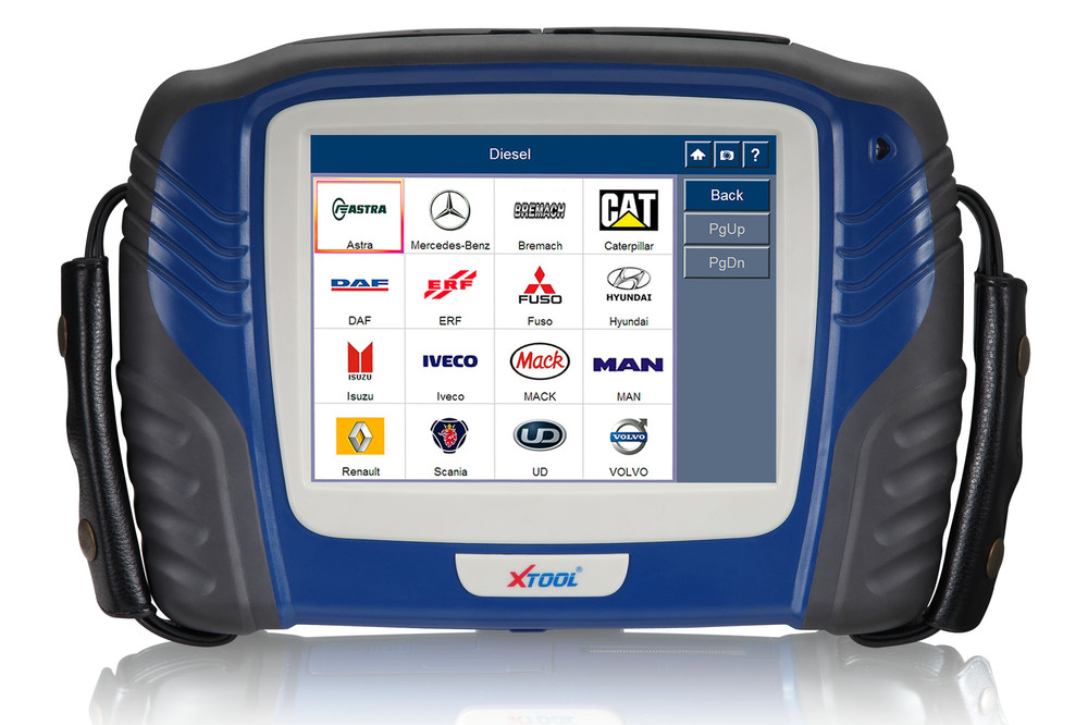 Universal truck obd diagnostic tool with high performance processor