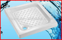 Bathroom ceramic square vanity high shower tray sets conner base low profile ST-05