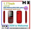 1.77 inch screen small dual sim cheap bar OEM cell phone Model 203
