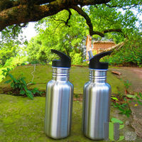 18oz FDA Approved Factory Making Stainless Steel Water Canteen Wholesale