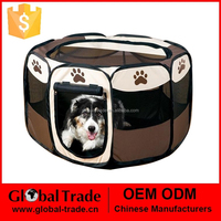 Pet Fence 60*35.5cm Dog Kennel Pet Fence Puppy Soft Playpen Exercise Pen Folding Create 450088