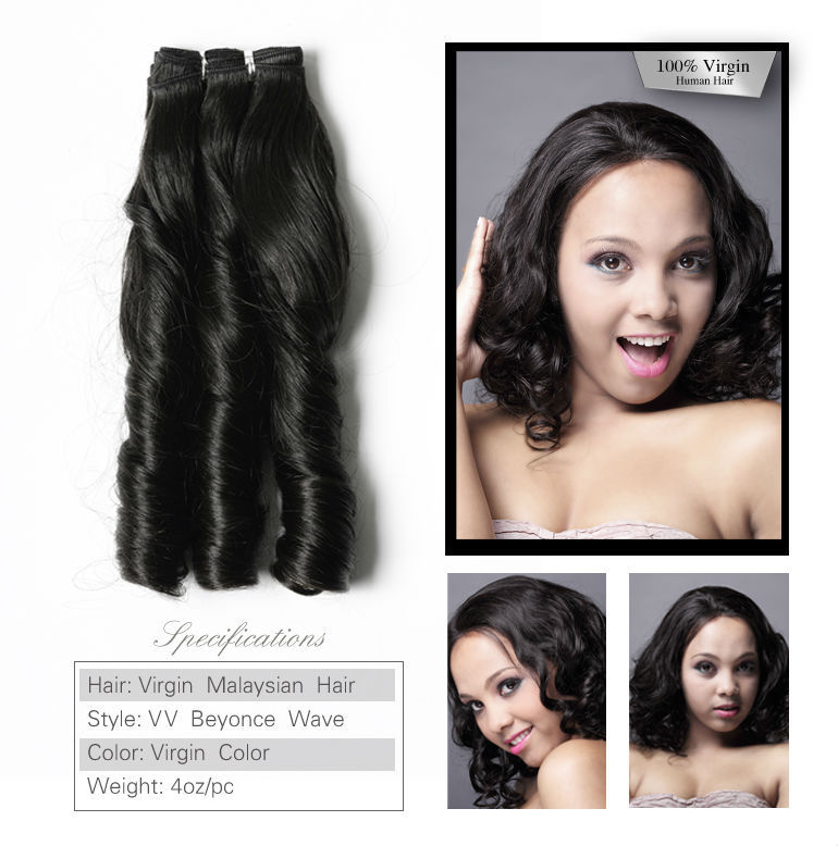 Vv No Shedding Celebrity Beyonce Style 6 Inch 100 Human Hair