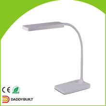 All-season performance Export CTN touch switch folding led desk lamp 10w silver led table lamp t1038