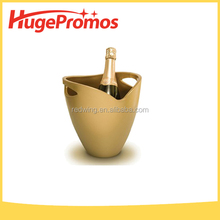 Bar Printed Plastic Ice Bucket For Promotion