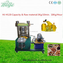 Cheapest price!!! High output oil rate oil press price/olive oil press HJ-H120