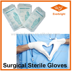 Sterile latex surgical gloves / Powder free / Disposable