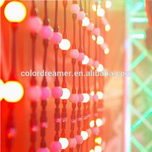 3D led pixel ball for nightclub,multi color outdoor hanging 3d dmx led balls