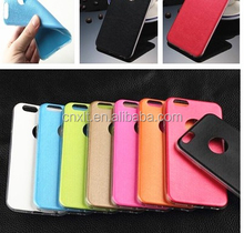 Wholesale 5.2 inch free sample leather mobile cell phone case for huawei