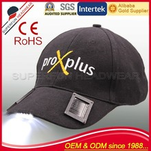high quality new design solar led hat