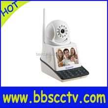 Home Security Surveilance Free Video Call Wireless P2P alarm siren camera ip