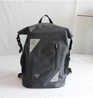 Black designer Waterproof laptop backpack bag