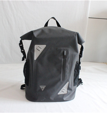 Black designer Waterproof laptop backpack bag
