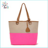 Professional manufacturer pu leather wholesale cheap shopping bag