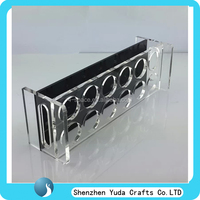 home or office acrylic cup holders plexiglass drink cup displays racks customized size handles cup stand