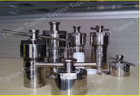 Teflon lined hydrothermal synthesis reactors with quality stainless steel shell AUTOCLAVE