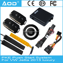 PKE keyless go with remote start for Volkswagen Jetta 2013 high equipped