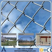 Eco Friendly 4-ft x 50-ft galvanized steel 11.5 gauge chain-link fence fabric