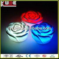 2013 Multicolor unique LED illuminated holiday gift luminous rose