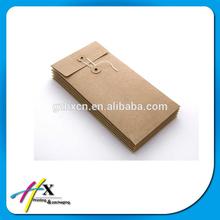 nice design with low price normal invitation kraft paper envelope