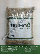 Wood Pellets 70% Pine, 30% Beech