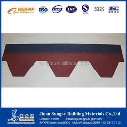 Mosaic/Hexagonal Asphalt roofing shingle for villa