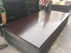 high quality brown or black one time or two times hot press film faced plywood or formwork or construction