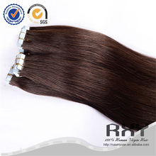 100 human hair bangs single sided, tape hair extension