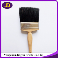 recommended high quality wooden handle paint brush