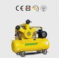 7.5kw/10hp isento de óleo pistão compressor de ar com tanque