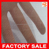 304 decorative stainless steel woven wire cloth / stainless steel screen mesh for window