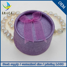Wholesale India Engagement Round Ring Box Unique Jewelry Packaging