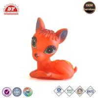 wholesale custom small plastic toy deer / mini plastic deer toys for sale