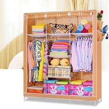 Non-woven fabric children wardrobe closet, wardrobe cabinet, storage wardrobe (FH-CM0506)