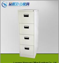 Cheap Modern four drawer metal file cabinet / steel corner cabinet