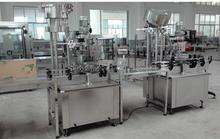 aluminum screw caps capping machine, automatic bottle sealing machine