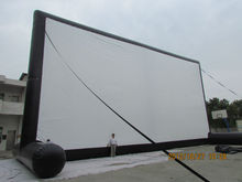 2014 hot seller commercial inflatable film screen / inflatable advertising